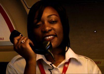 Congo Bush Pilot flight attendant