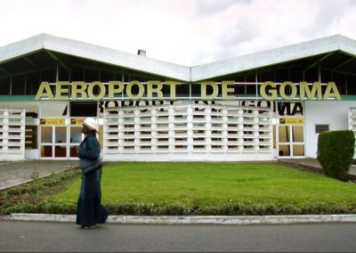 Airport in the Congo