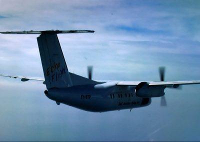 Congo Bush Pilot plane flying