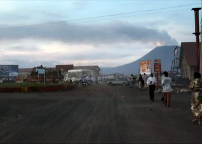 Street in the Congo